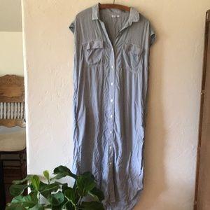 Maxi t shirt dress